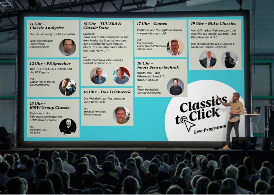 Liveprogramm Classics to Click